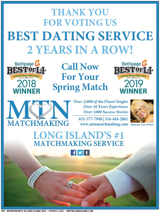 services de matchmaking sur Long Island