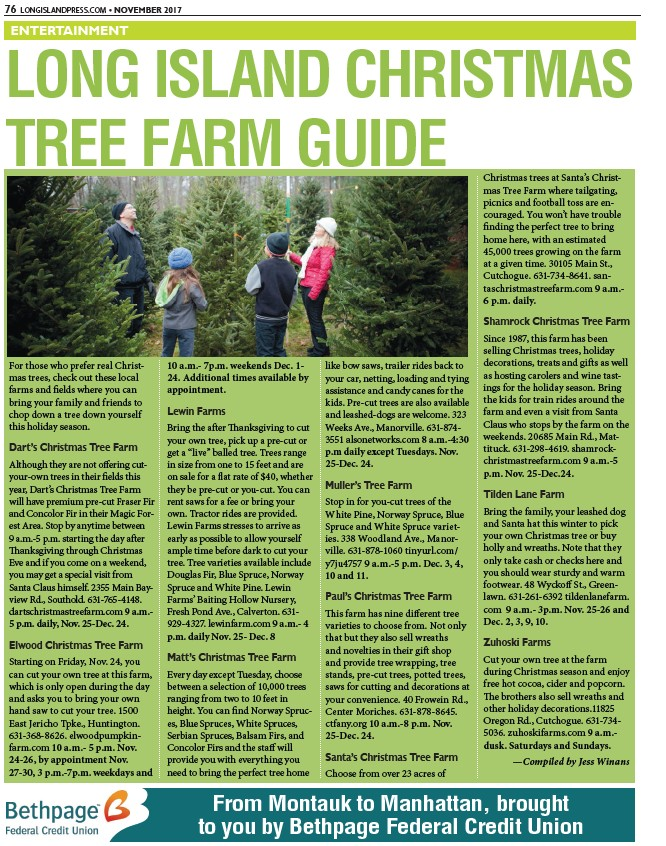 Cut Your Own Christmas Tree Long Island.Lip112017 Page 76