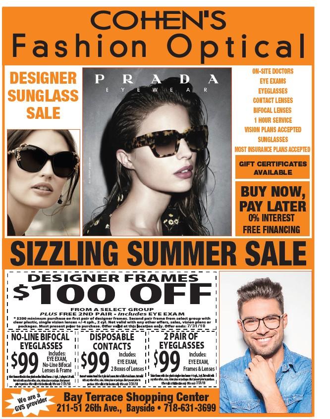 ca90e373275b ... FRAMES Bay Terrace Shopping Center 211-51 26th Ave., Bayside •  718-631-3699 ON-SITE DOCTORS EYE EXAMS EYEGLASSES CONTACT LENSES BIFOCAL LENSES  1 HOUR ...